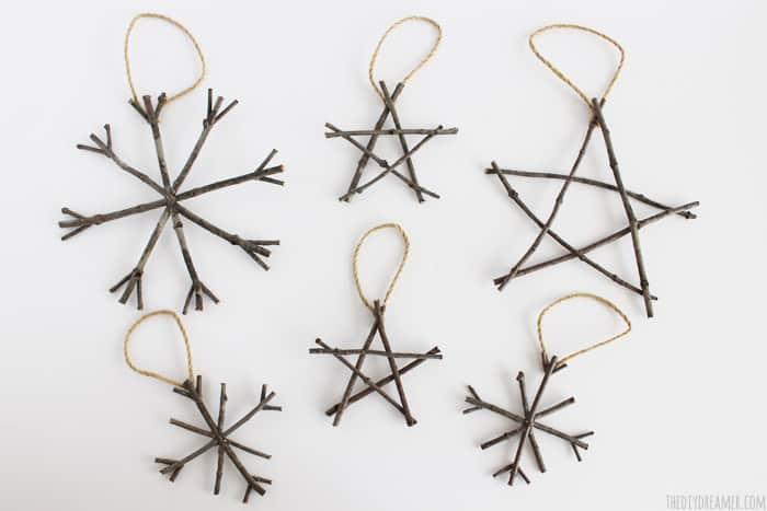DIY Dreamer Twig-Ornaments