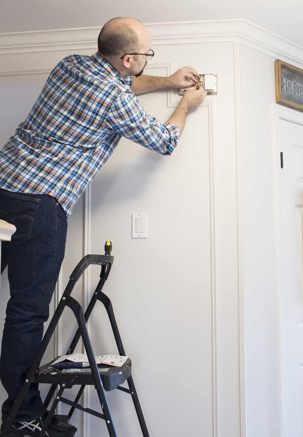 Two Doorbell Chimes On Vintage Nutone Chime Doorbell Wiring Diagrams
