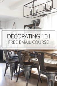 decorating 101