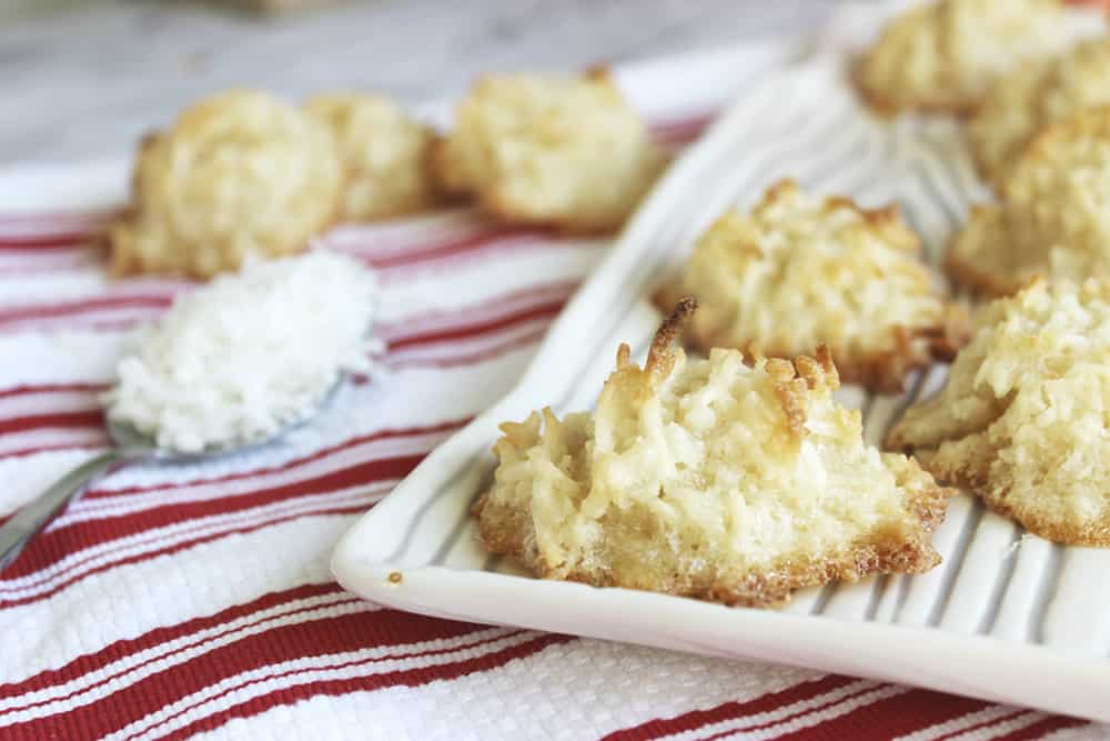 The Easiest Ever Coconut Macaroons in Less than 30 Minutes!