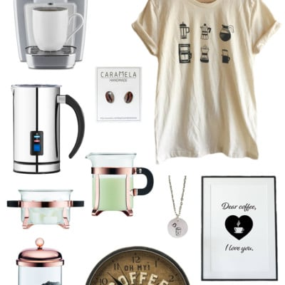 63 Fabulous Gifts for the Coffee Lover in Your Life this Christmas!