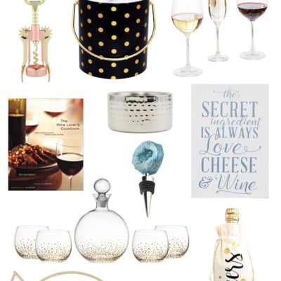 16+ Perfectly Beautiful Gifts for the Wine Lover