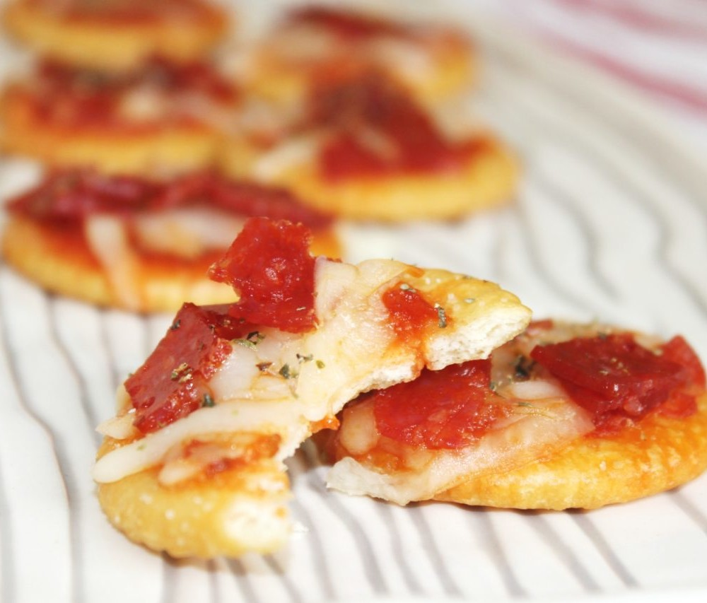 Ritz Pizza Crackers | Glutino Pizza Crackers Appetizer
