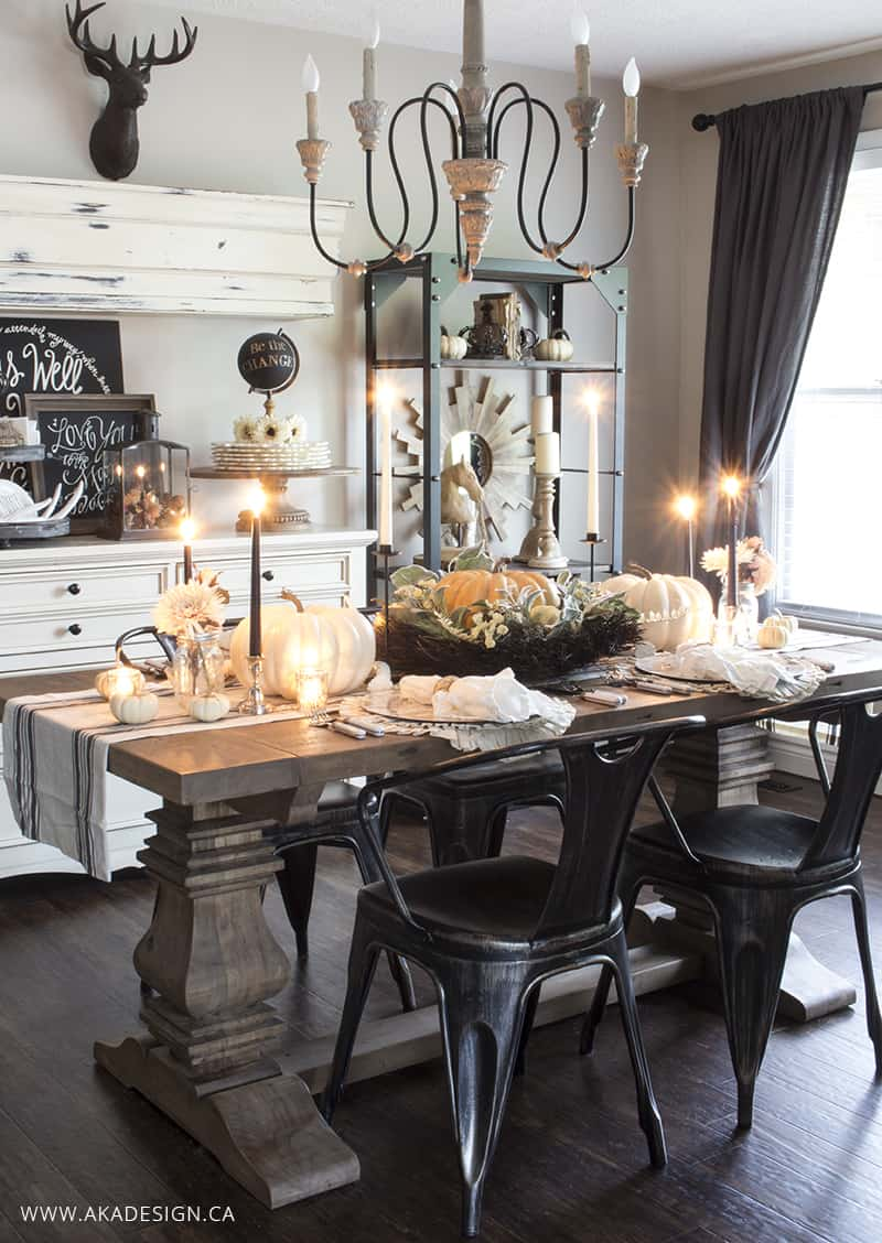13 Farmhouse Thanksgiving Table Ideas To Help You Decorate Yours