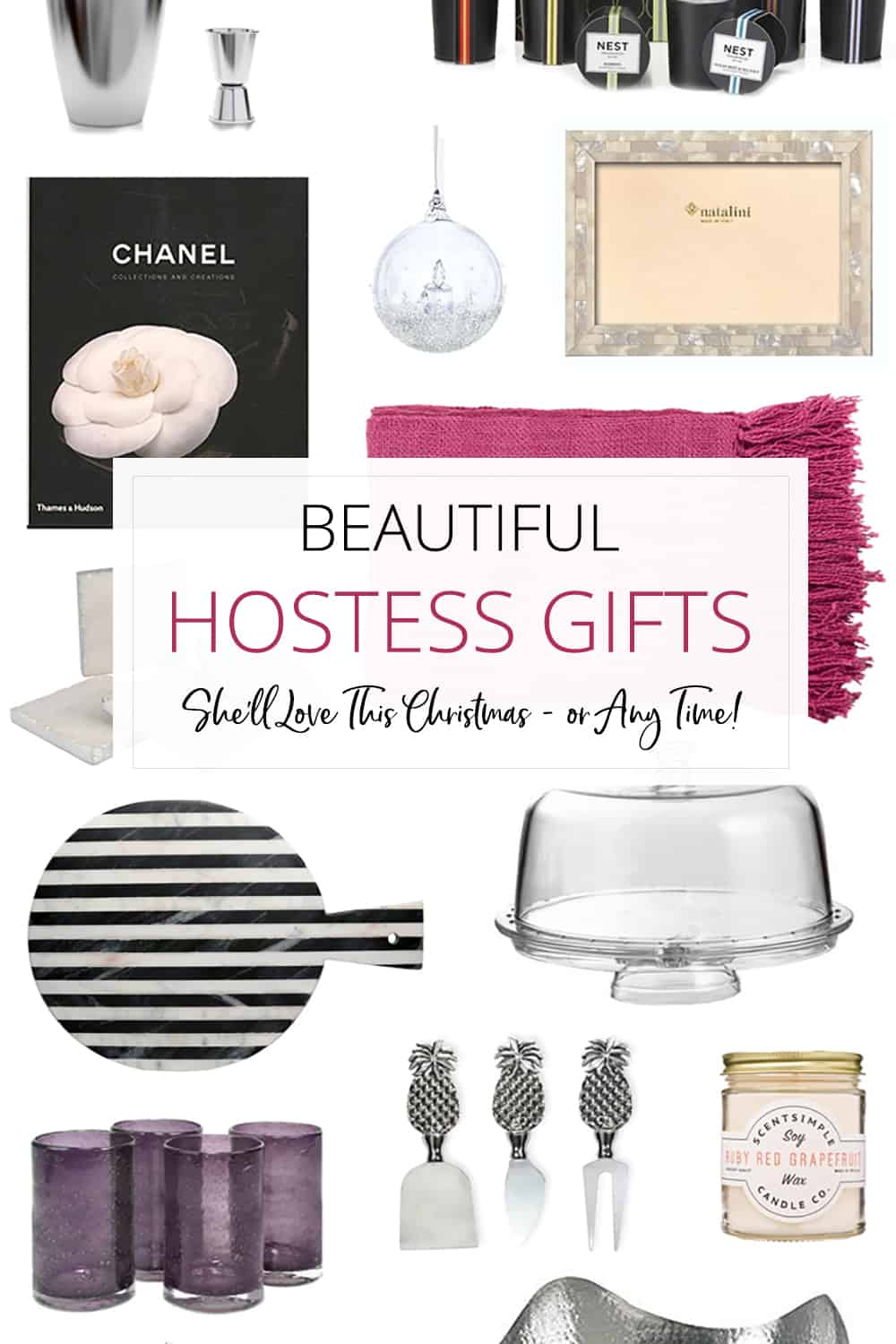 Beautiful hostess gifts she 39 ll love this christmas or for Gifts she ll love