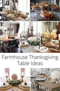 farmhouse thanksgiving tables