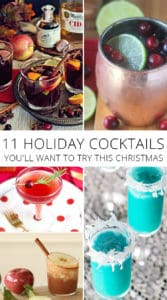 11 holiday cocktails you'll want to try this christmas