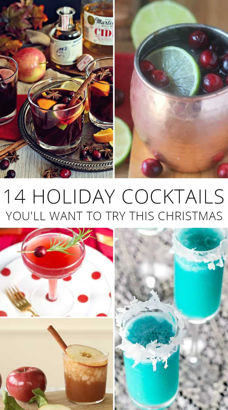 14 holiday cocktails you'll want to try this christmas