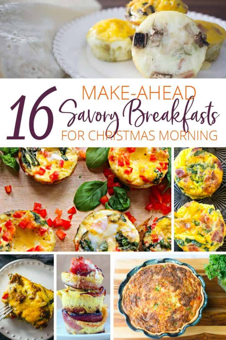 16 Make Ahead Savory Breakfasts for Christmas Morning