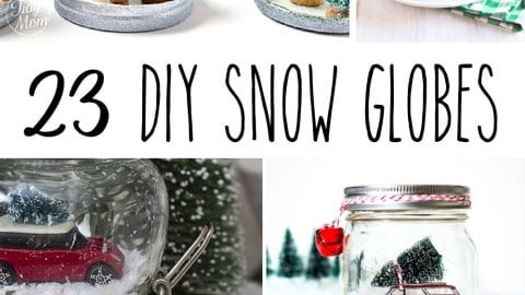 23 DIY Snow Globes – Make Your Own Mini Winter Wonderland!