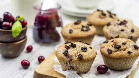 Cranberry Sauce Muffins – A Perfect Way to Use Holiday Leftovers!