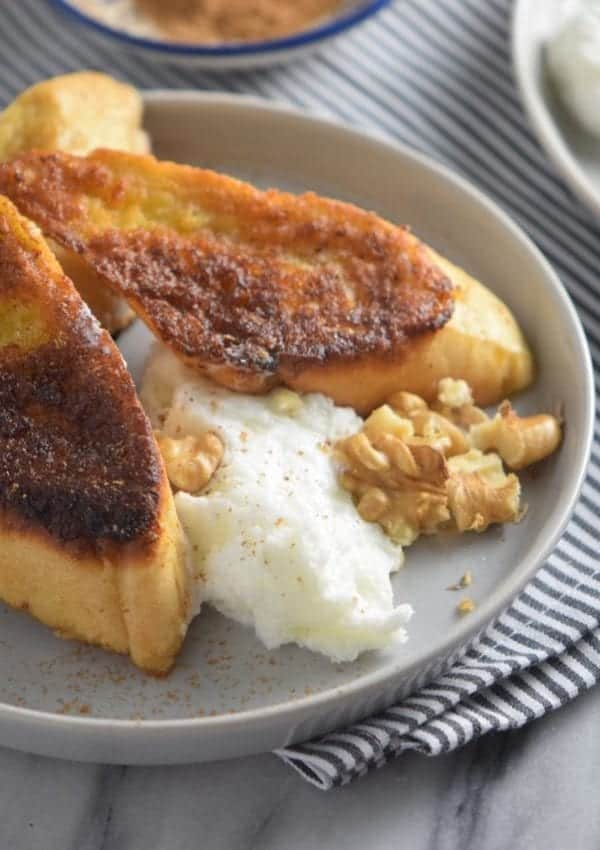 Eggnog French Toast – Allergy-Friendly, Vegan and Gluten Free