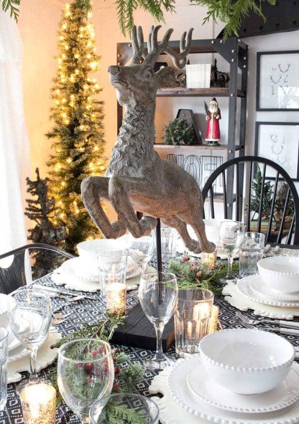 Our Farmhouse Christmas Table + 5 More Farmhouse Holiday Table Ideas