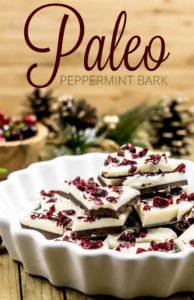 Paleo Peppermint Bark