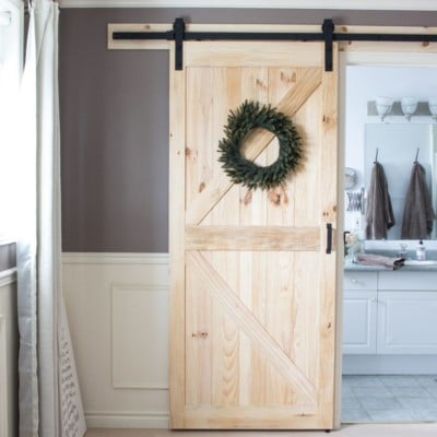 We Finally Have a Barn Door Again – In Our Master Bedroom!