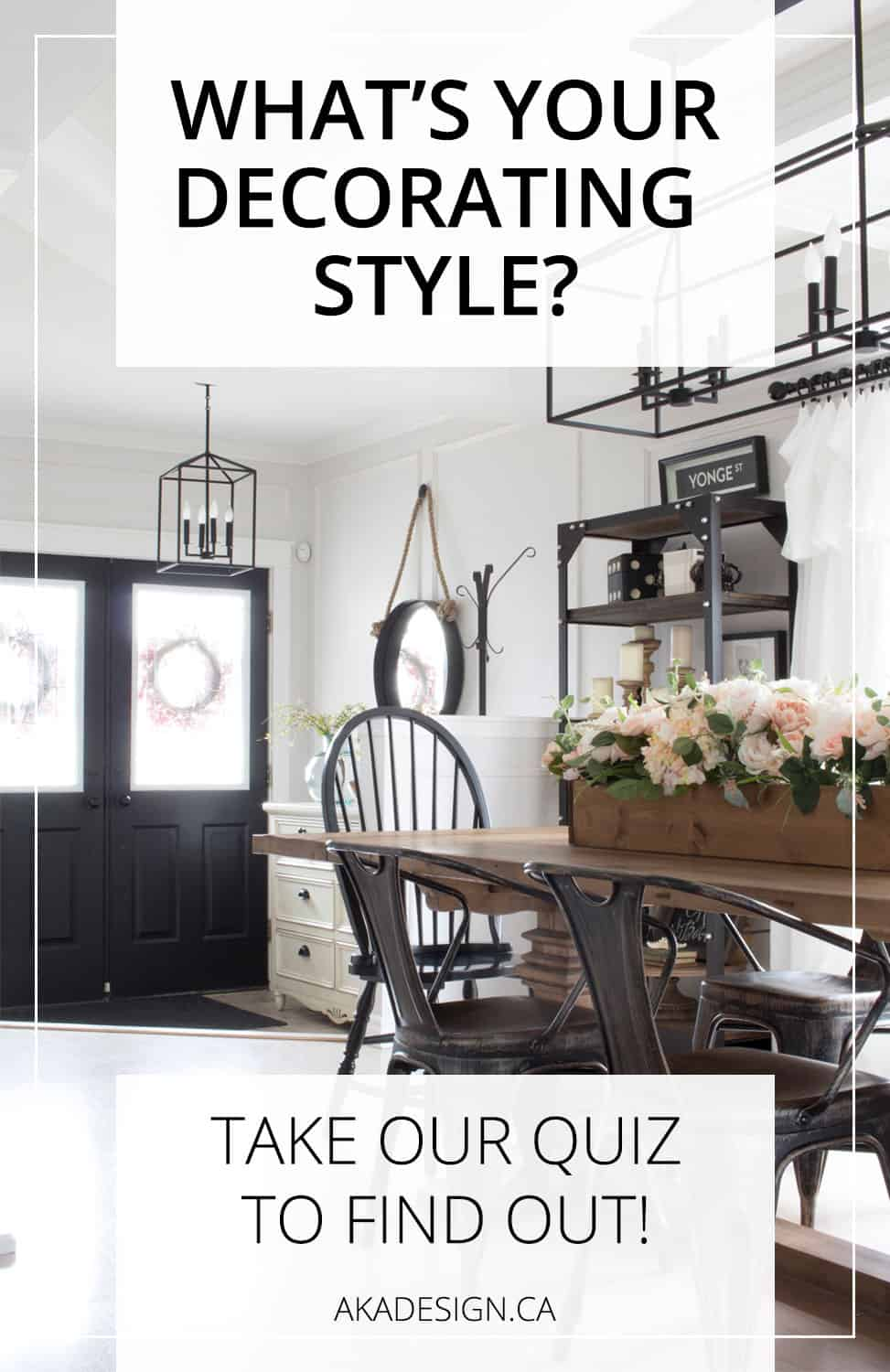 What 39 s your decorating style quiz for Decorating quins