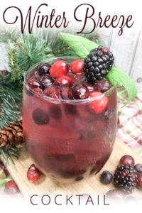 Winter Breeze Cocktail