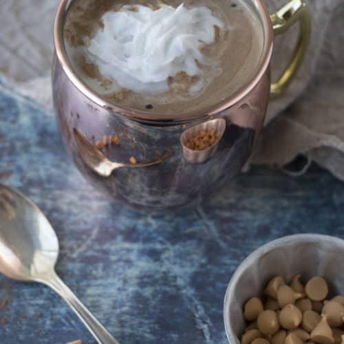 butterscotch hot chocolate 3 ingredient recipe