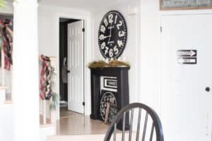 fireplace-mantel-and-oversized-clock