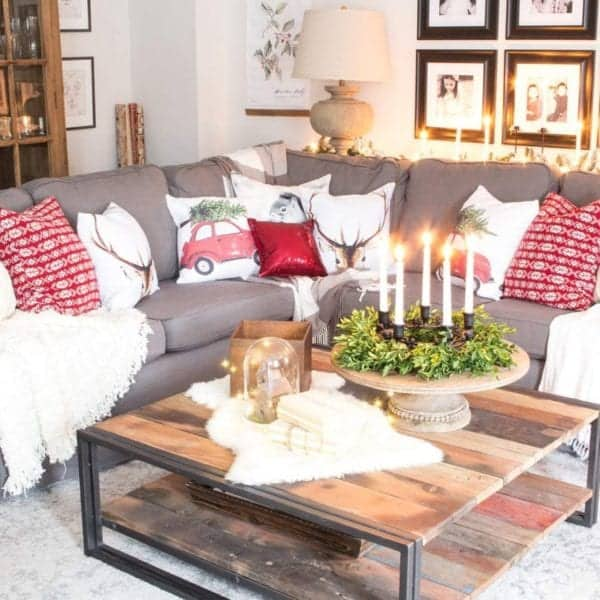 grey-ikea-sectional-with-red-christmas-pillows