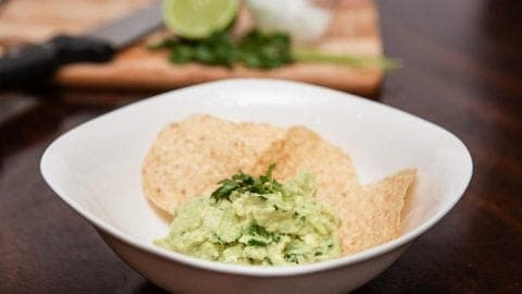 Everyone's Favorite Homemade Guacamole