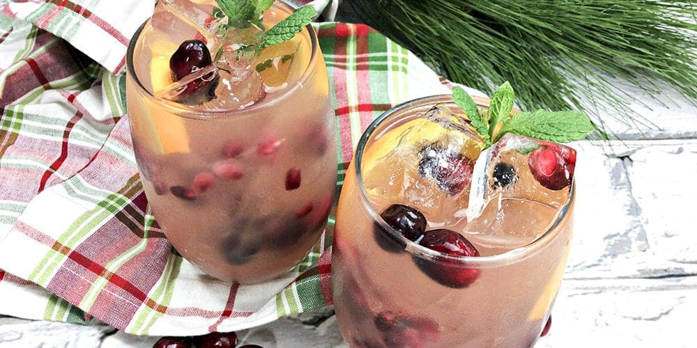 holiday citrus sangria