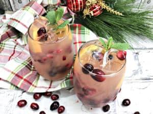 holiday citrus sangria