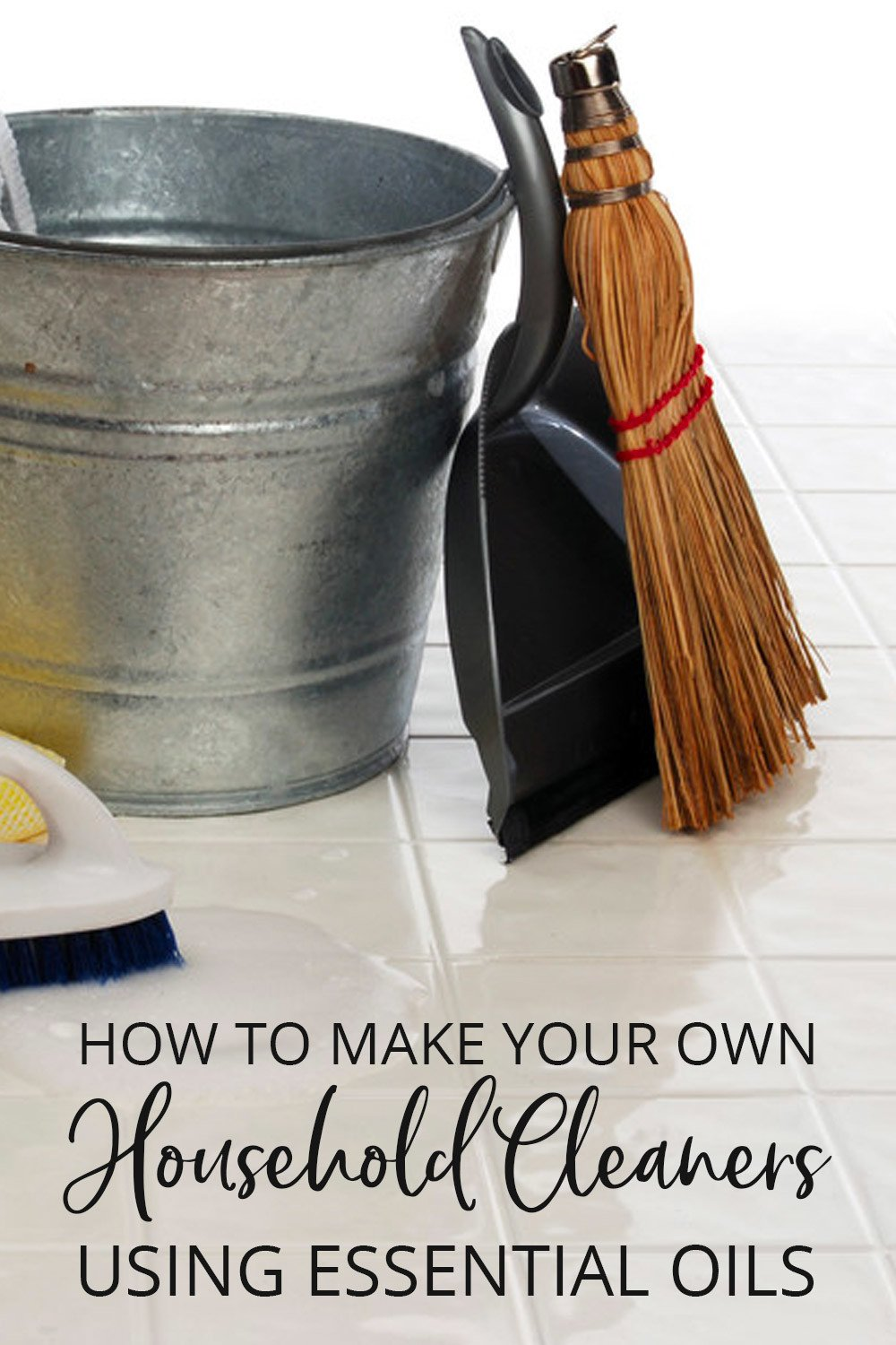 How to make your own household cleaners using essential oils