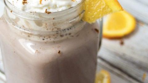 Orange Hot Chocolate – Tastes Just Like a Chocolate Orange in a Mug!
