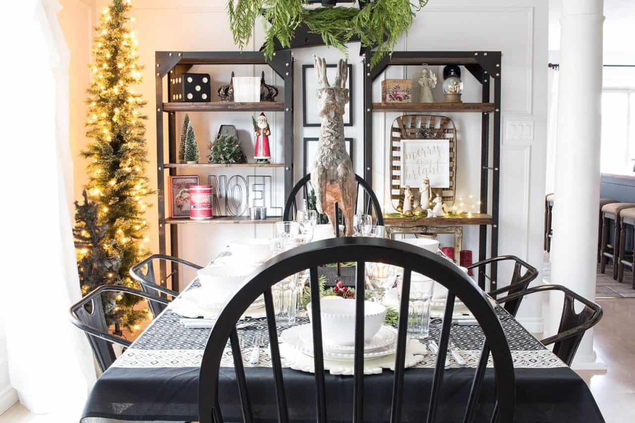 rustic-industrial-shelves-farmhouse-christmas