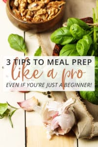 3 tips to meal plan like a pro - even if you're just a beginner