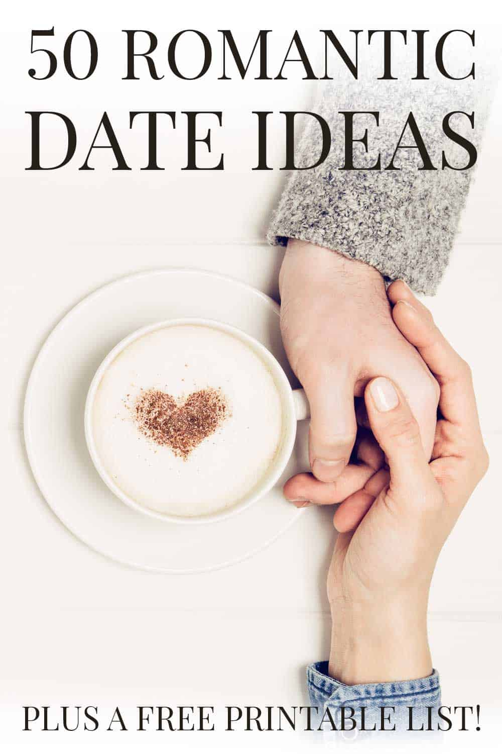 50 Romantic Date Ideas - A Simple List for You!