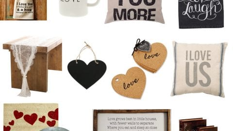 20 Farmhouse Valentine's Day Decor Finds