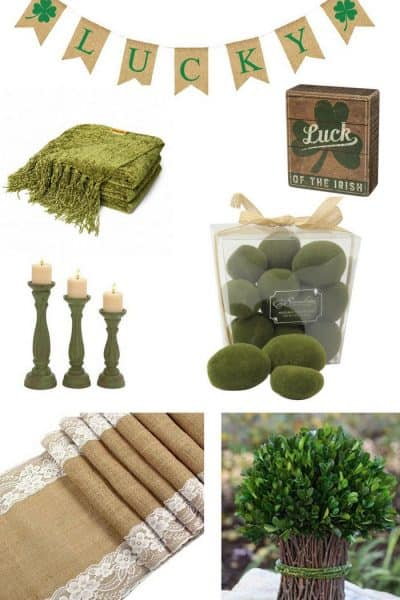 20 Farmhouse Style St. Patrick's Day Decor Finds