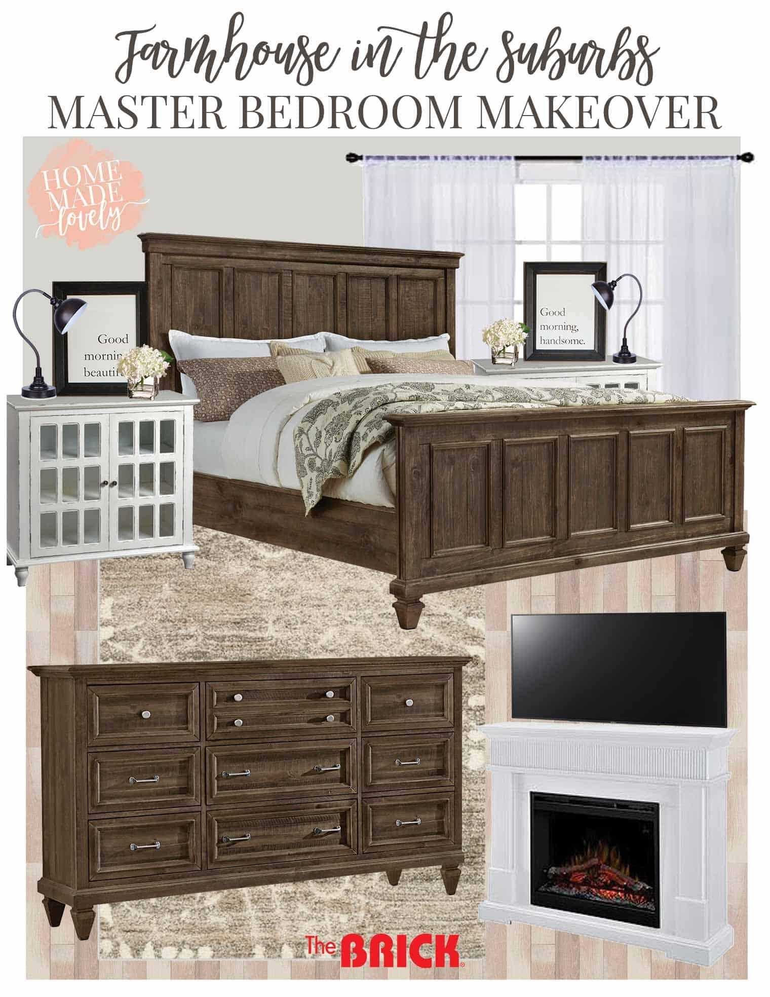 master bedroom makeover plans moodboard