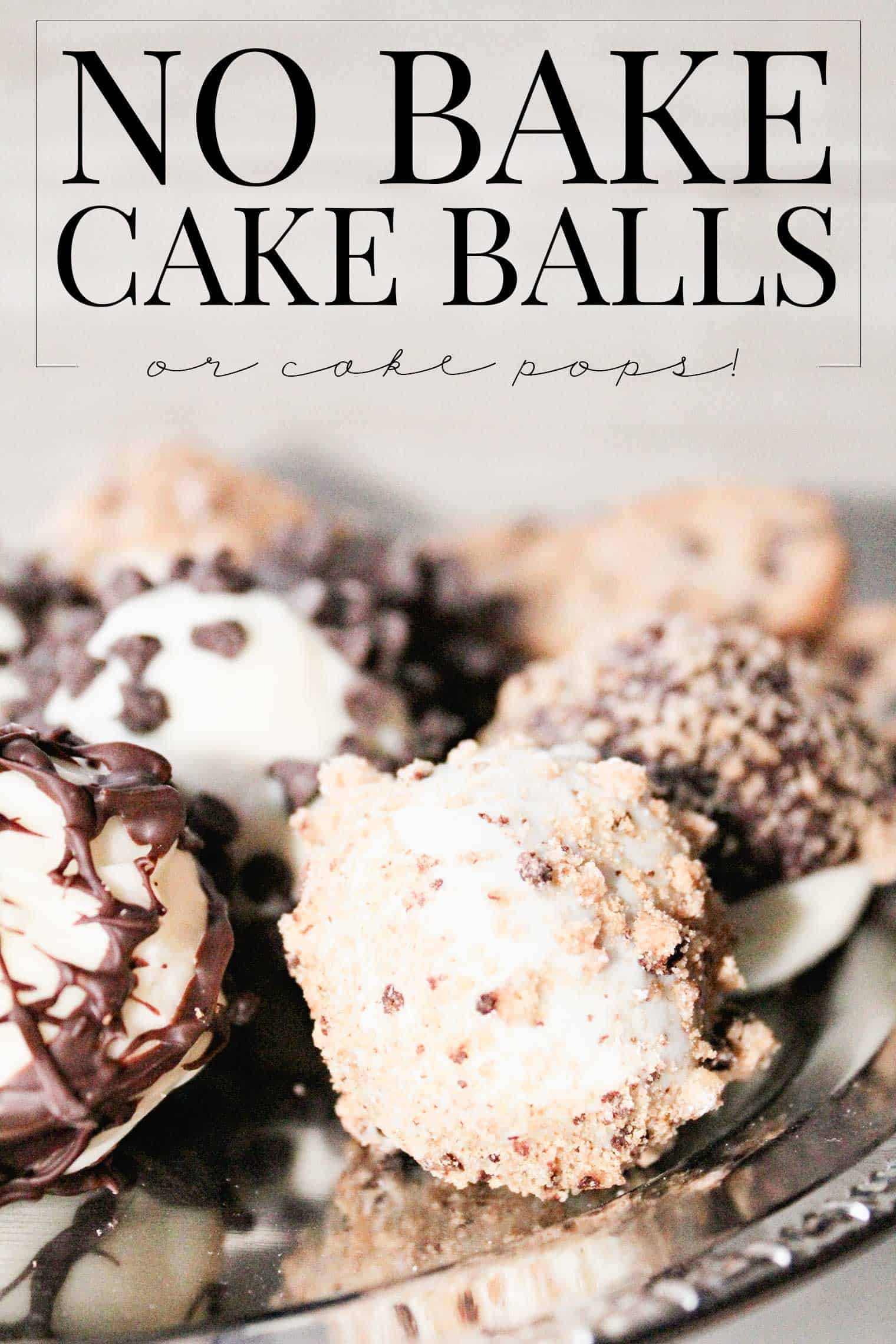 Can You Make Cake Pops With Just Cake Mix