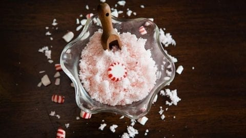 3 Ingredient Peppermint Sugar Scrub Recipe