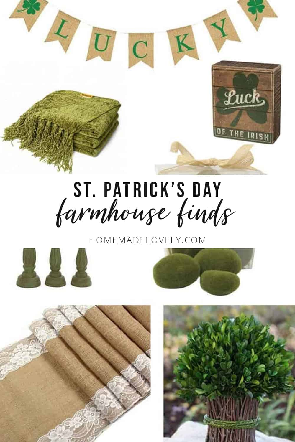 st patrick's day farmhouse finds