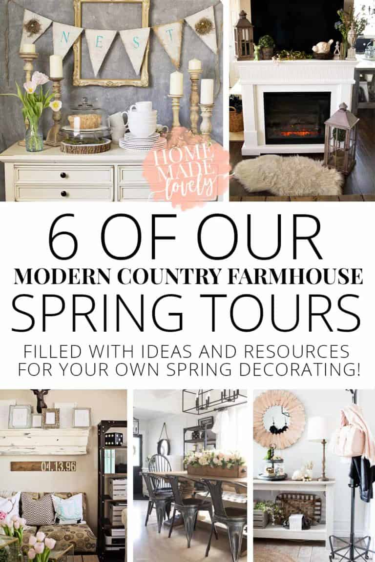 Best of Spring Tours – 6 of Our Modern Country Farmhouse Spring Tours
