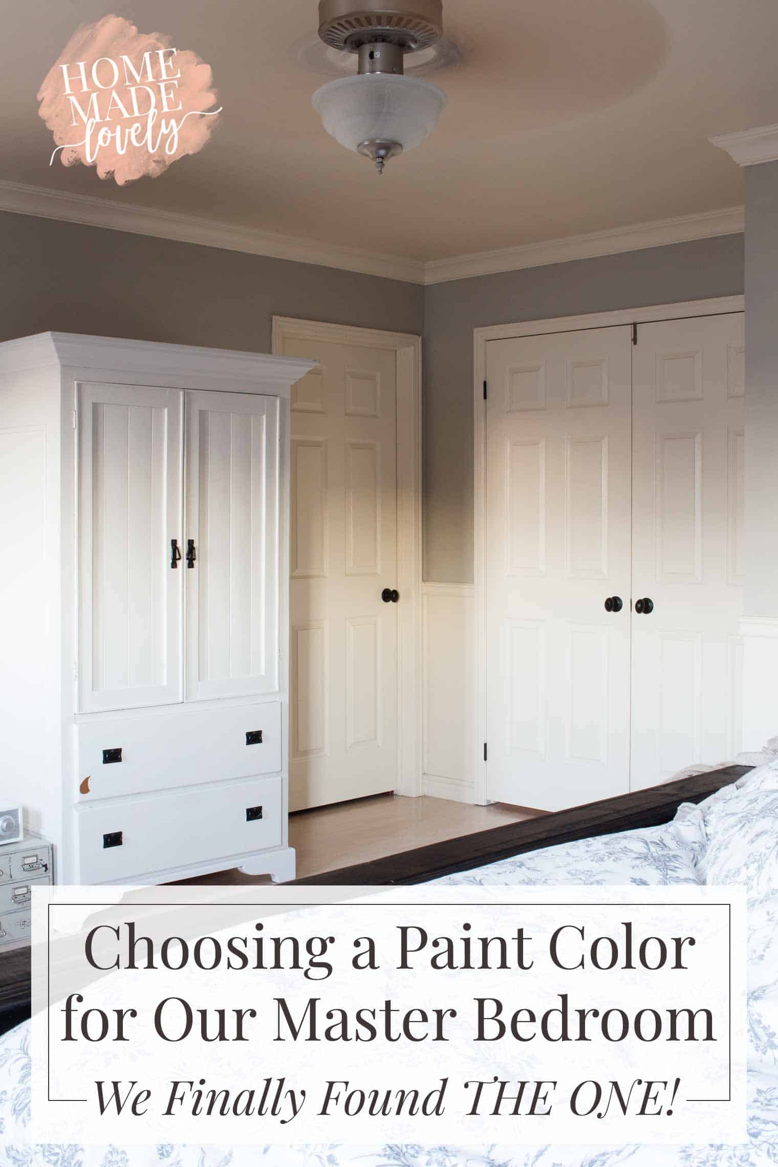 choosing paint colors for bedroom choosing a paint color for our master bedroom we finally 18458