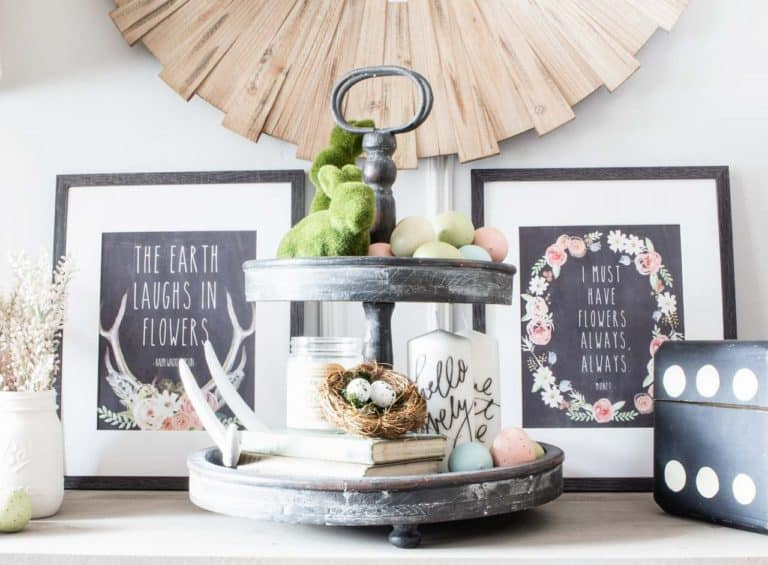 8 Brand New Free Spring Printables – Spring Quotes, Watercolors & Chalkboards