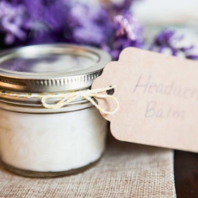 Make Your Own Headache Balm With Essential Oils