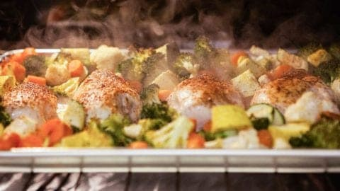 Sheet Pan Chicken and Veggies – A One Dish Meal