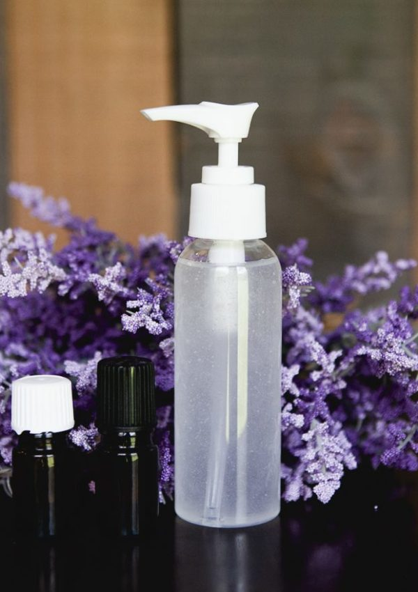 Homemade Hand Sanitizer with Essential Oils