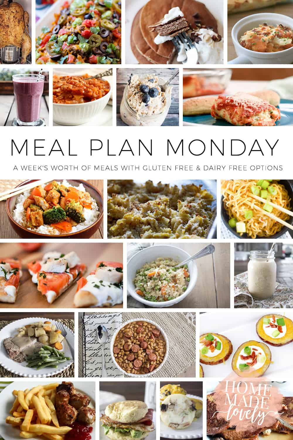 For us, a menu plan is just one more step to an organized home. Here's what we're planning for Meal Plan Monday/Menu Plan Monday this week!