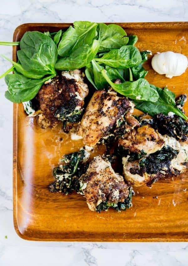 Keto Chicken Thigh Roll-Ups