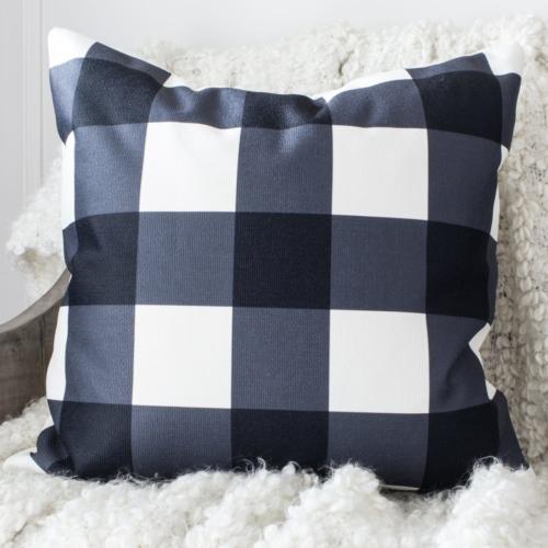 HML Collection pillows buffalo check