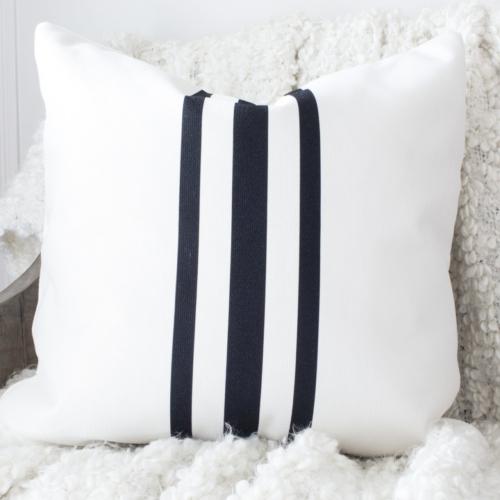 HML Collection pillows grain sack stripe