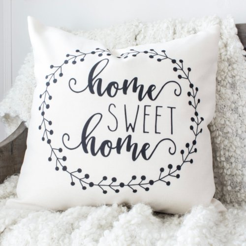 HML Collection pillows  home sweet home