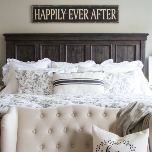 HML Happily Ever After Sign farmhouse style